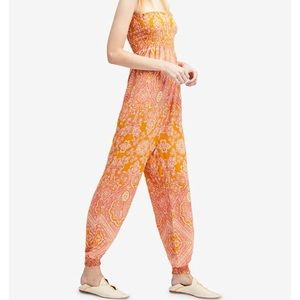 NEW free people thinking of you romper jumpsuit